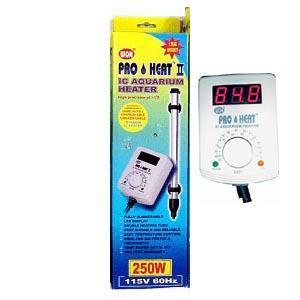 250 Watt Titanium Pro Heat Ii Aquarium Heater With Remote